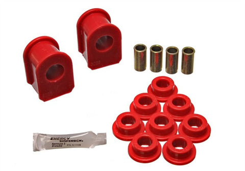 Energy Suspension Front Sway Bar Bushing Kit - Red 4.5106R ENE4.5106R