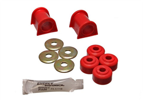 Energy Suspension Front Sway-Bar Bushings Kit and End Links - Red 5.5106R ENE5.5