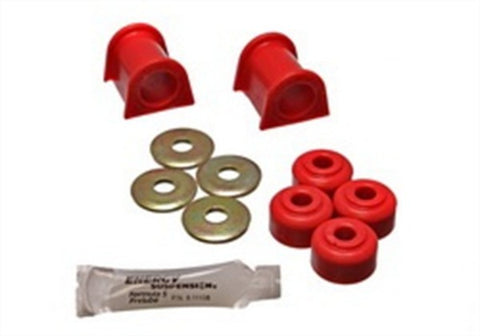 Energy Suspension Front Sway-Bar Bushings Kit and End Links - Red 5.5107R ENE5.5