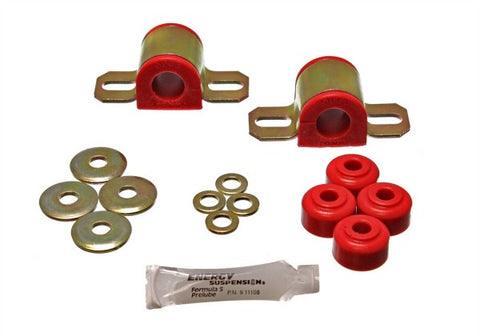 Energy Suspension Rear Sway-Bar Bushings Kit and End Links - Red 5.5108R ENE5.51