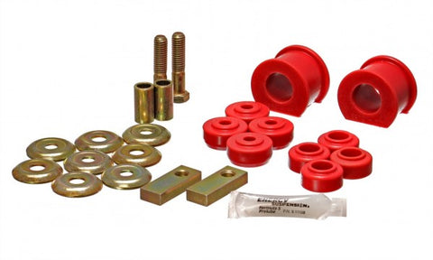 Energy Suspension Front Sway-Bar Bushings - Red 5.5111R ENE5.5111R