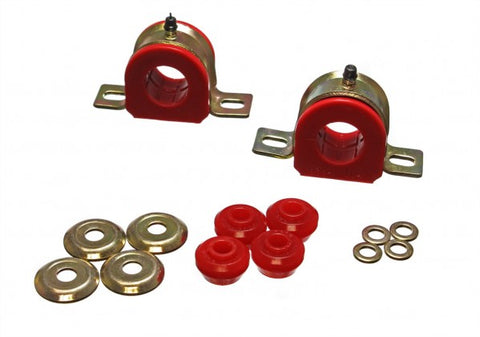 Energy Suspension Front Sway-Bar Bushings Kit and End Links - Red 5.5127R ENE5.5