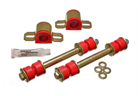 Energy Suspension Front Sway-Bar Bushings - Red 7.5108R ENE7.5108R
