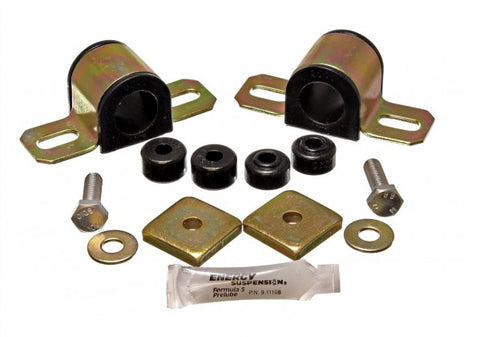 Energy Suspension Front Sway-Bar Bushings Kit & End Links - Black 7.5114G ENE7.5