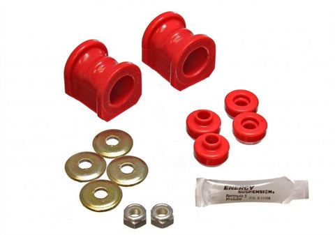 Energy Suspension Front Sway-Bar Bushings Kit and End Links - Red 7.5115R ENE7.5