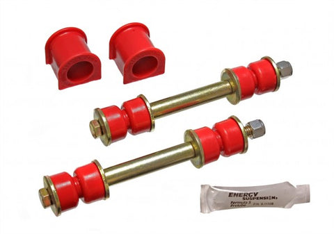 Energy Suspension Front Sway-Bar Bushings - Red 8.5106R ENE8.5106R