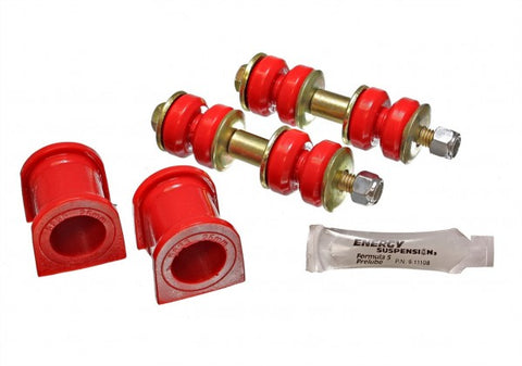 Energy Suspension Front Sway-Bar Bushings - Red 8.5130R ENE8.5130R