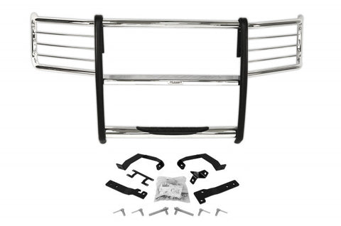 Ford F150 Grille Bush Guard w/ Step - Chrome