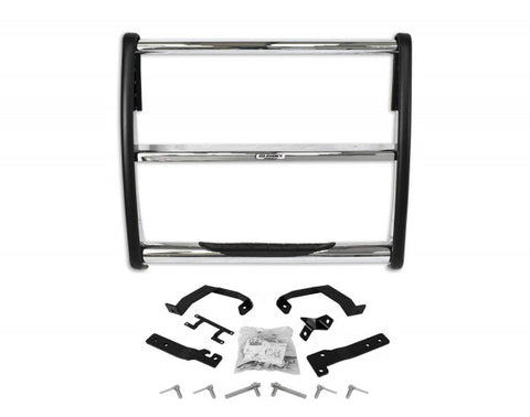 Ford F150 Grille Guard w/ Step - Chrome