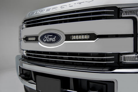 Ford F250/F350 OEM Grille Light Bar - Black Mounts