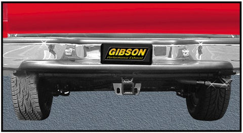 Gibson Swept Side Single Exhaust System - Stainless 618706 GIB618706