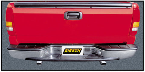 Gibson Split Rear Dual Exhaust System - Stainless 6547 GIB6547
