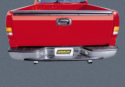 Gibson Split Rear Dual Exhaust System - Aluminized 9540 GIB9540