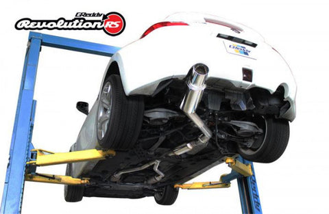 Nissan 370Z Exhaust - Cat Back w/ Polished  Single Exit