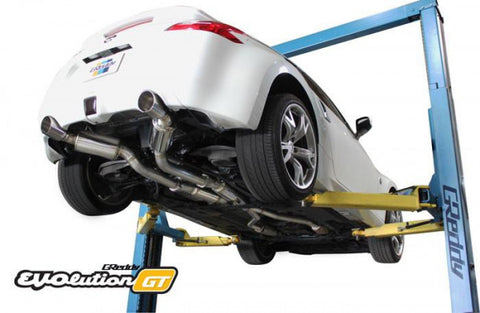 Nissan 370Z Exhaust - Full Dual Cat Back with Dual Polished Tips