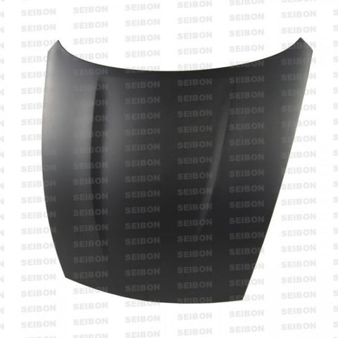 Seibon OEM Style Dry Carbon Hoods HD0910NS370-OE-DRY
