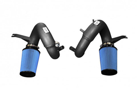 Kia Stinger Air Intake - (Short Ram w/ Dry Filter) Wrinkle Black [3.3TT] - SP1350WB