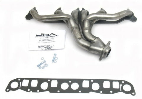 JBA Cat4Ward Shorty Header - Silver 1526S JBA1526S