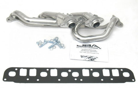 JBA Cat4Ward Shorty Header - Silver 1527SJS JBA1527SJS