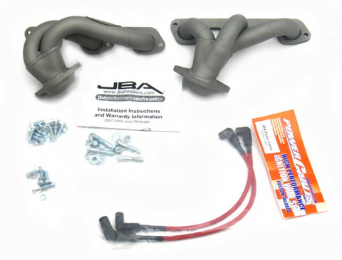 JBA Cat4Ward Shorty Header - Titanium 1528SJT JBA1528SJT
