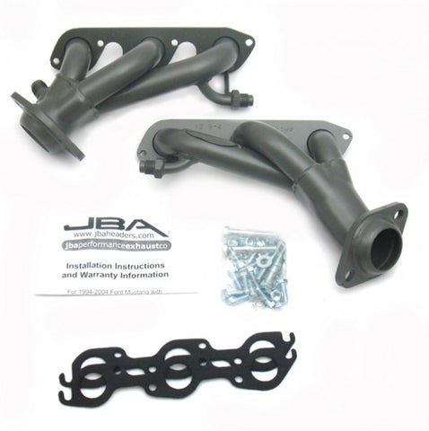 JBA Cat4Ward Shorty Header - Titanium 1619S-4JT JBA1619S-4JT