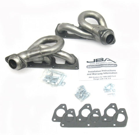 JBA Cat4Ward Shorty Header - Stainless Steel 1647S-1 JBA1647S-1