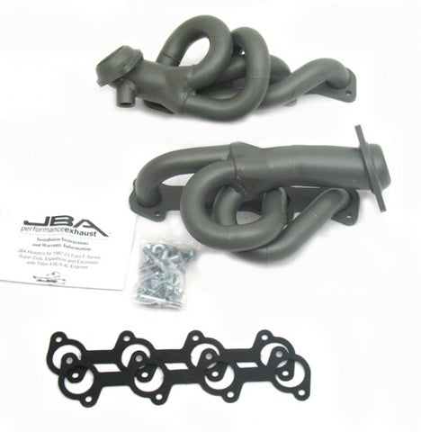 JBA Cat4Ward Shorty Header - Titanium 1677SJT JBA1677SJT