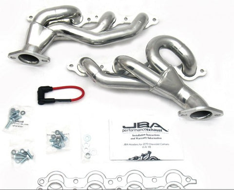 JBA Cat4Ward Shorty Header - Silver 1813SJS JBA1813SJS