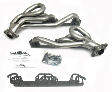 JBA Cat4Ward Shorty Header - Stainless Steel 1945S-1 JBA1945S-1