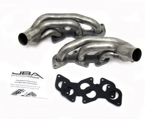 JBA Cat4Ward Shorty Header - Stainless Steel 2035S JBA2035S