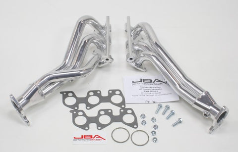 JBA Long Tube Header - Silver Ceramic 6035S-2JS JBA6035S-2JS