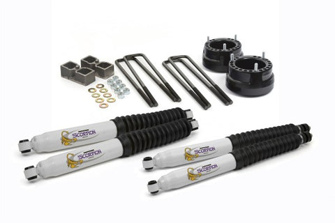 Daystar Suspension Lift Kit With Shocks - 2in Lift KC09123BK