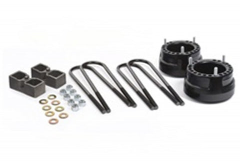 "Daystar Lift Kit Coil Spring Spacers - 2"" Front & Rear Lift w/ Blocks & U-Bolts"