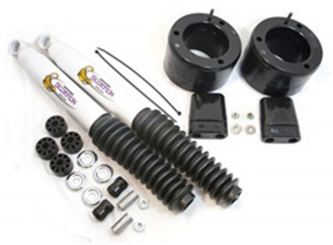 Daystar Black Coil Spring Spacer Kit With Shocks - Front 2in Lift KC09138BK