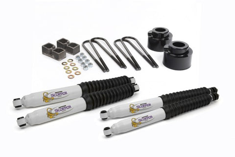 Daystar Suspension Lift Kit With Shocks - 2.5in Front Lift / 2in Rear Lift KF090