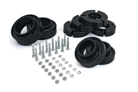 Daystar Suspension Coil Spring Spacer Kit - Front and Rear 2in Lift KF09110BK