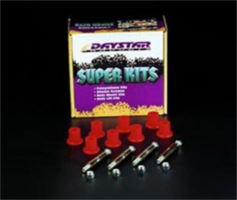 Daystar Greaseable Bolt & Bushing Kit Front or Rear (Aftermarket Shackles Only)