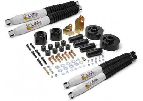 Daystar Suspension Lift Kit Front and Rear -3in Lift KJ09126BK