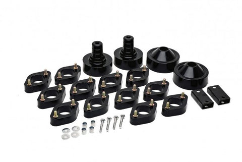 Daystar Suspension Front and Rear Lift Kit - 2in - 0.75in Lift KJ09143BK