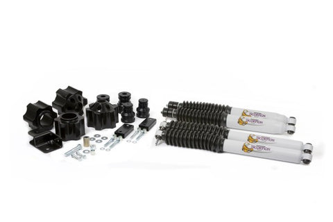 Daystar Suspension Front and Rear Lift Kit With Shocks - 3in Lift KJ09153BK