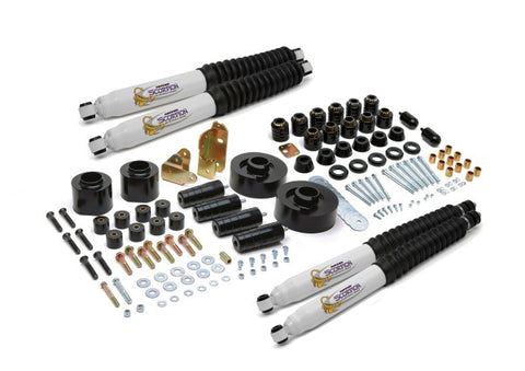 Daystar Suspension Combo Kit Front and Rear Lift - 4in Lift KJ09155BK