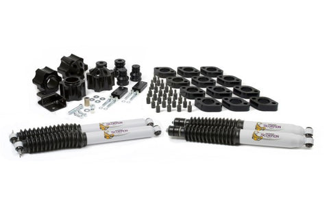 Daystar Suspension Combo Kit Front and Rear Lift - 4in Lift KJ09156BK