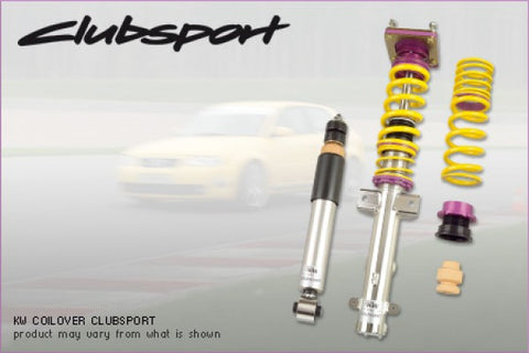 KW Suspension Clubsport Coilovers - With Top Mount 35258804 KW35258804