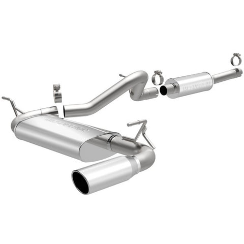 Magnaflow Street Series Stainless Steel Cat-Back Exhaust - Single Passenger Side