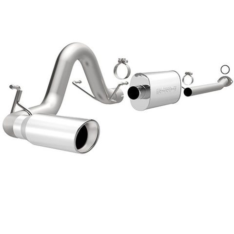 Magnaflow Stainless Steel Cat-Back Exhaust - Single Passenger Side Exit 15240 MA