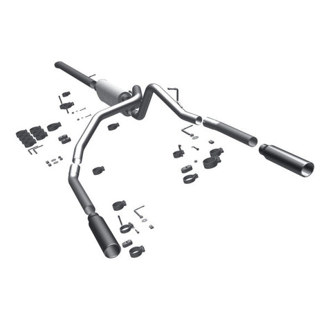 Magnaflow Stainless Steel Cat-Back Exhaust -  Dual Split Rear Exit 15523 MA15523
