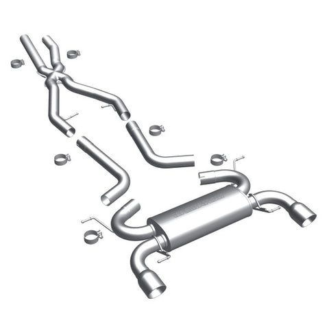 Magnaflow Touring Series Stainless Steel Cat-Back Exhaust -  Dual Split Rear Exi