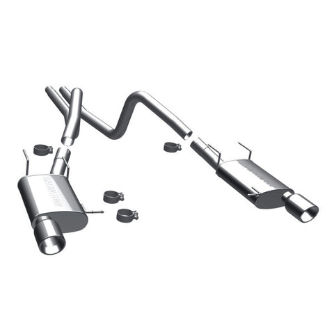 Magnaflow Street Series Stainless Steel Cat-Back Exhaust - Dual Split Rear Exit