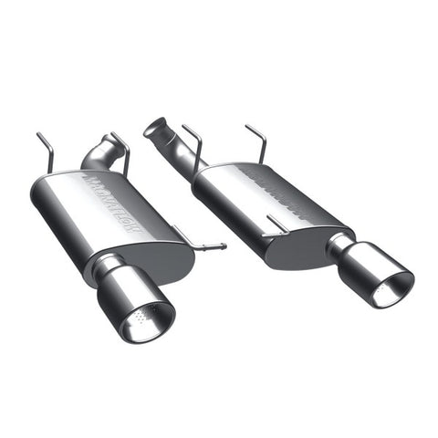 Magnaflow Street Series Stainless Steel Axle-Back Exhaust - Dual Split Rear Exit