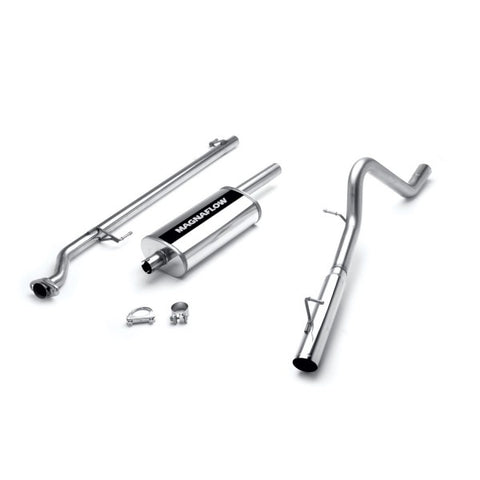 Magnaflow Stainless Steel Cat-Back Exhaust Systems - Single Passenger Side Rear